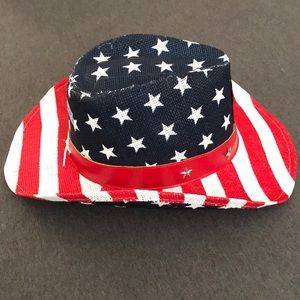 f7e8a7ca4a7 Melonwear Accessories - American Flag Los Angeles Angels Cowboy Hat